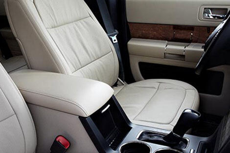 2018 Ford Flex FRONT-ROW CENTER CONSOLE