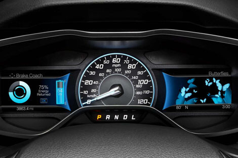 2018 Ford Focus SMARTGAUGE® WITH ECOGUIDE INSTRUMENT CLUSTER