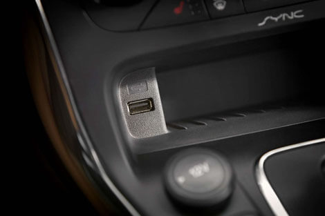 2018 Ford Focus SMART CHARGING USB PORTS (TWO)