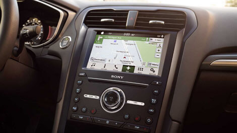 2018 Ford Fusion VOICE-ACTIVATED NAVIGATION SYSTEM WITH SIRIUSXM™ TRAFFIC AND TRAVEL LINK®