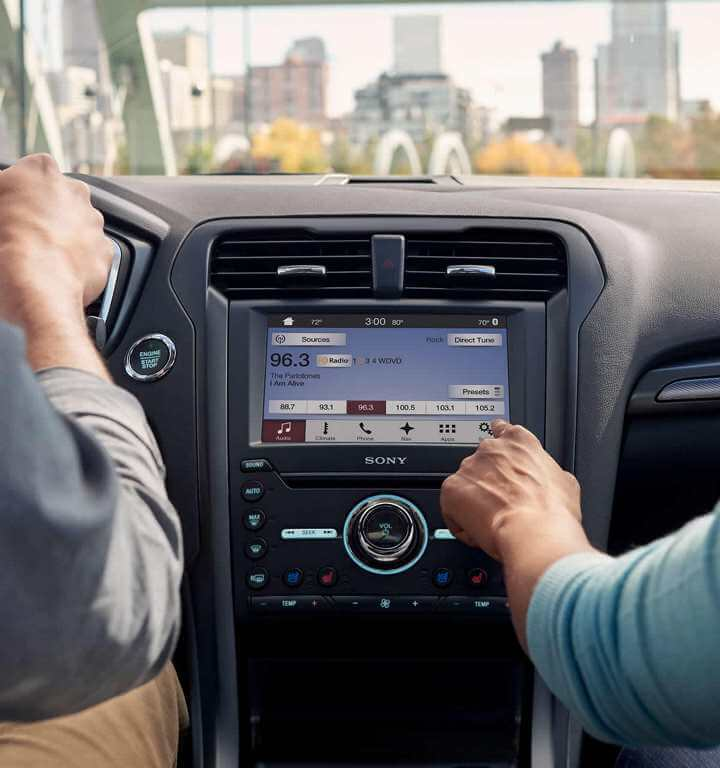 2018 Ford Fusion Interior Gallery Image
