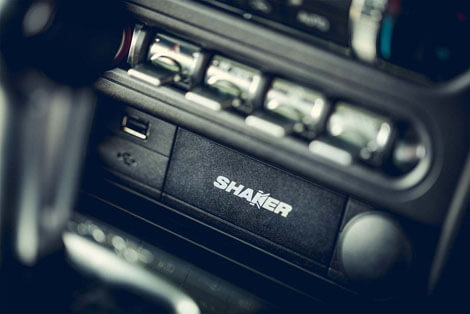 2018 Ford Mustang SHAKER™ PRO AUDIO WITH HD RADIO™ TECHNOLOGY
