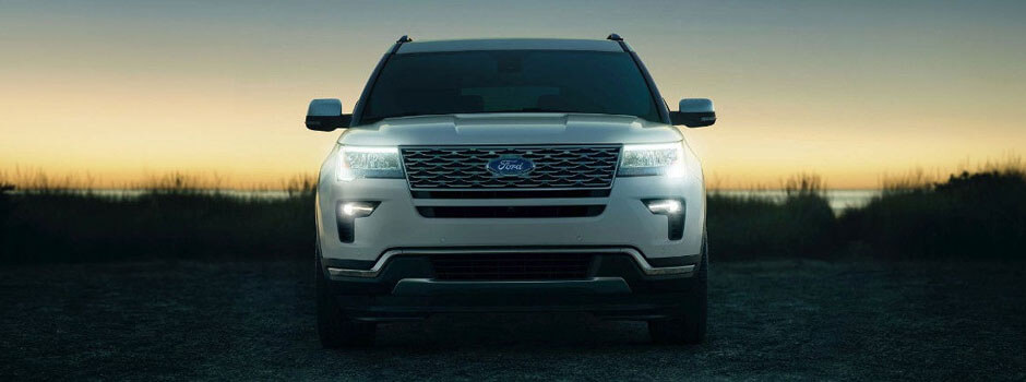 New 2018 Ford Explorer EXTERIOR OVERVIEW