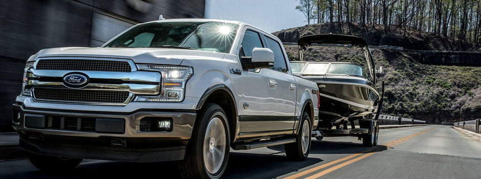 New 2018 Ford F-150 SAFETY OVERVIEW: ADAPTIVE CRUISE CONTROL WITH STOP-AND-GO