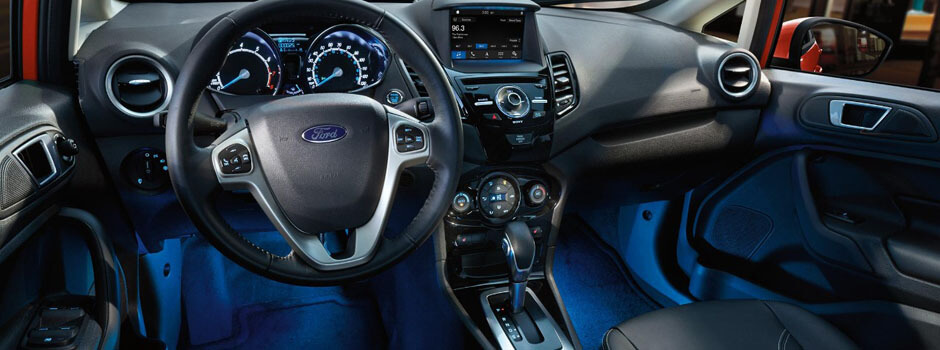New 2018 Ford Fiesta INTERIOR OVERVIEW
