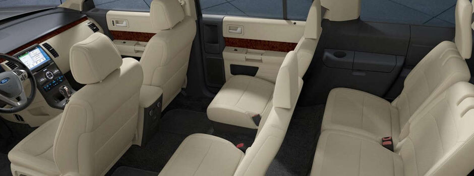 New 2018 Ford Flex INTERIOR OVERVIEW