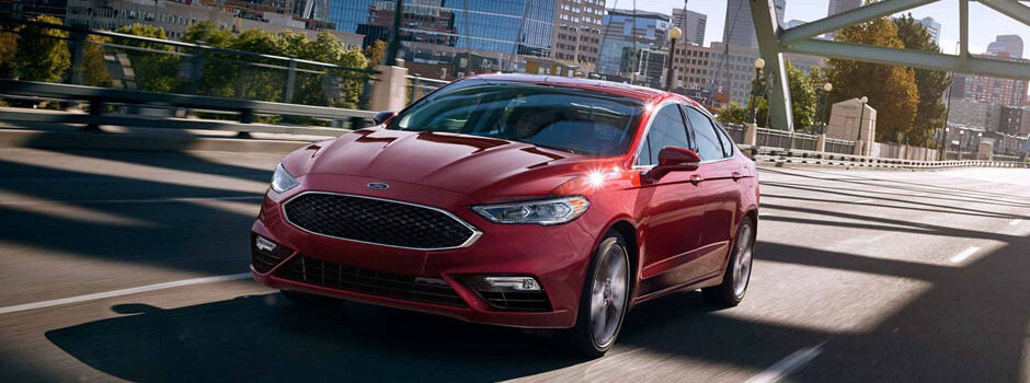 New 2018 Ford Fusion EXTERIOR OVERVIEW