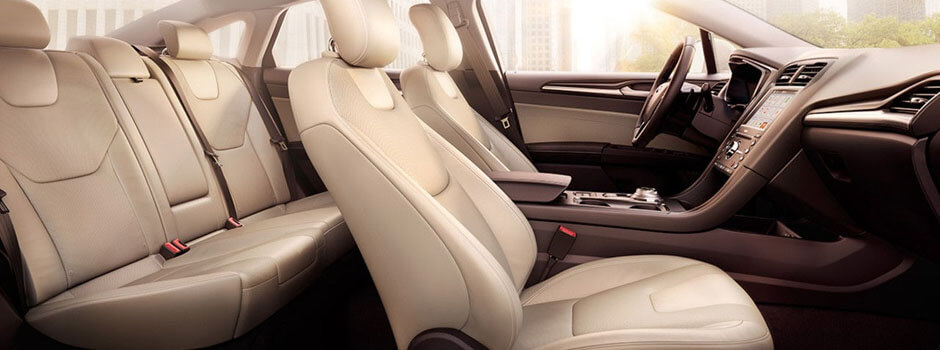 New 2018 Ford Fusion INTERIOR OVERVIEW