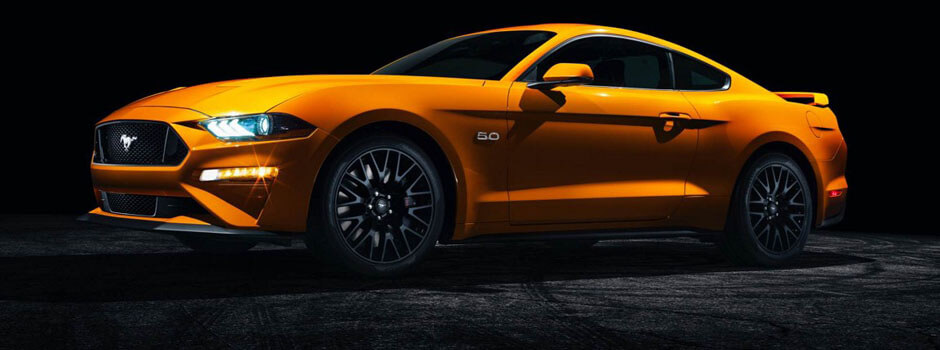 New 2018 Ford Mustang EXTERIOR OVERVIEW