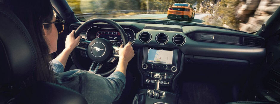 New 2018 Ford Mustang INTERIOR OVERVIEW