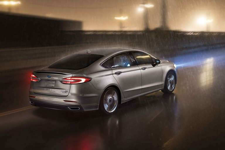 New 2019 Ford Fusion Intelligent All-Wheel Drive