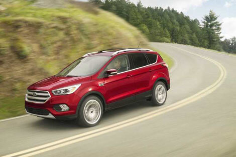 2018 Ford Escape ADVANCETRAC® WITH ROLL STABILITY CONTROL