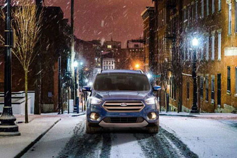 2018 Ford Escape INTELLIGENT 4WD SYSTEM