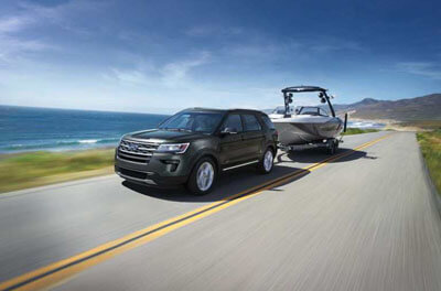 2018 Ford Explorer TOWING AND TRAILER SWAY CONTROL