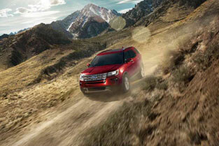 2018 Ford Explorer INTELLIGENT 4WD WITH TERRAIN MANAGEMENT SYSTEM™