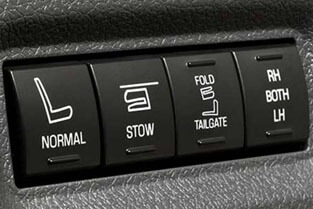 2018 Ford Flex POWER-FOLD® THIRD-ROW SEAT