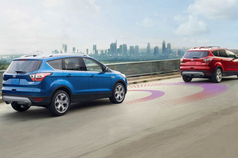 2018 Ford Escape ADAPTIVE CRUISE CONTROL AND FORWARD COLLISION WARNING WITH BRAKE SUPPORT