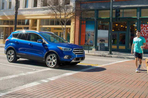 2018 Ford Escape FORD SAFE AND SMART PACKAGE