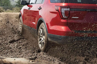 2018 Ford Explorer ADVANCETRAC® WITH ROLL STABILITY CONTROL