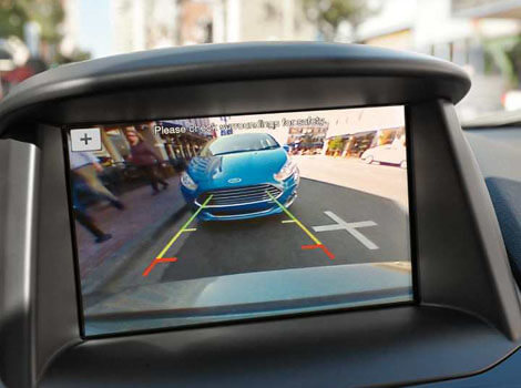 2018 Ford Fiesta STANDARD REAR VIEW CAMERA