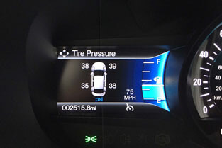 2018 Ford Fiesta TIRE PRESSURE MONITORING SYSTEM
