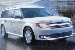 2018 Ford Flex RAIN-SENSING WIPERS