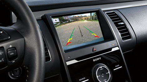 2018 Ford Flex REAR VIEW CAMERA WITH BACKUP ASSIST™ GRID