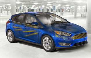 2018 Ford Focus DUAL-STAGE FRONT AIRBAGS