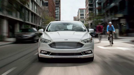 2018 Ford Fusion LANE-KEEPING SYSTEM