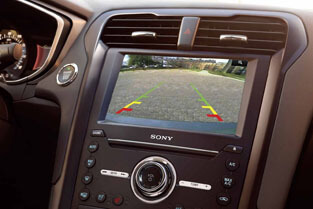 2018 Ford Fusion STANDARD REAR VIEW CAMERA