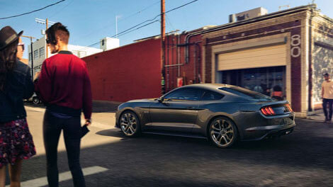 2018 Ford Mustang PRE-COLLISION ASSIST WITH PEDESTRIAN DETECTION