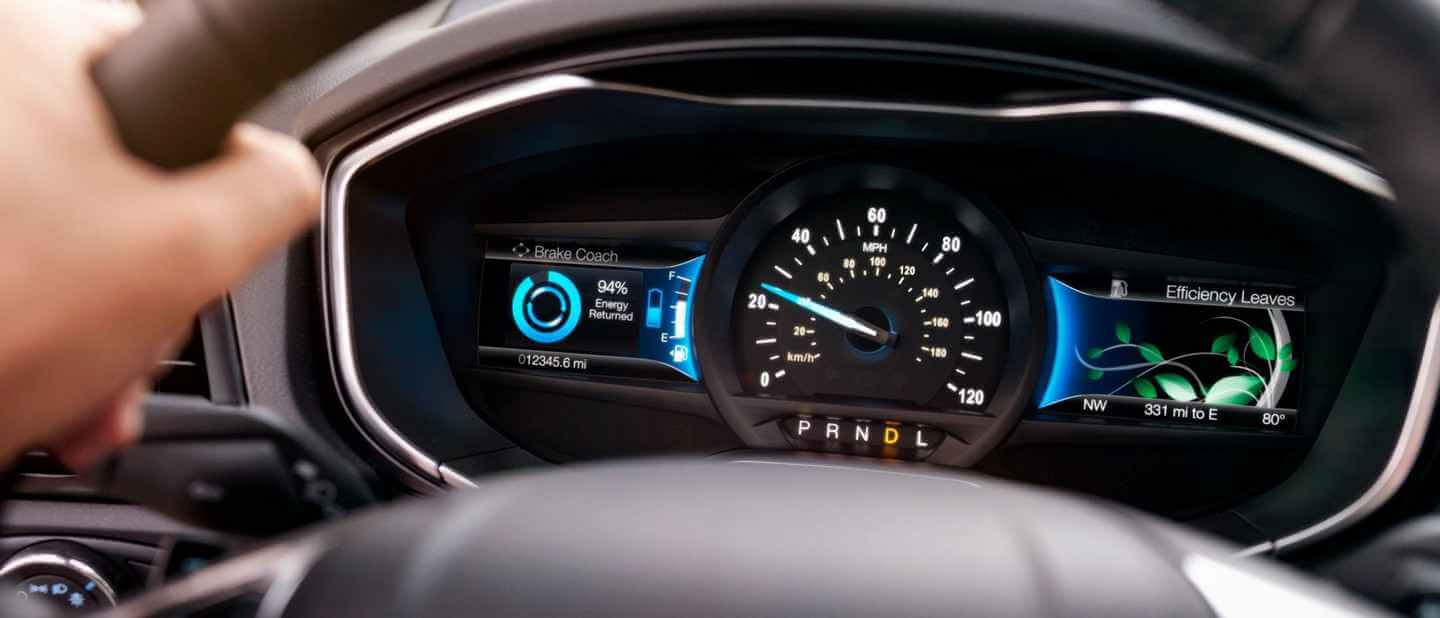 New 2019 Ford Fusion SmartGauge® With EcoGuide