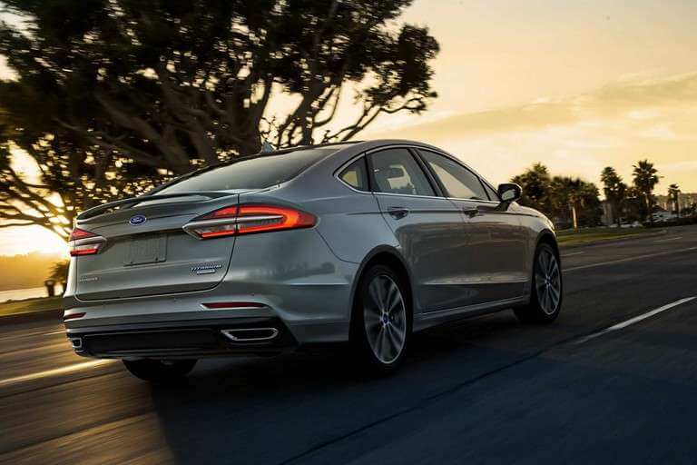 New 2019 Ford Fusion Regenerative Braking and Brake Coach