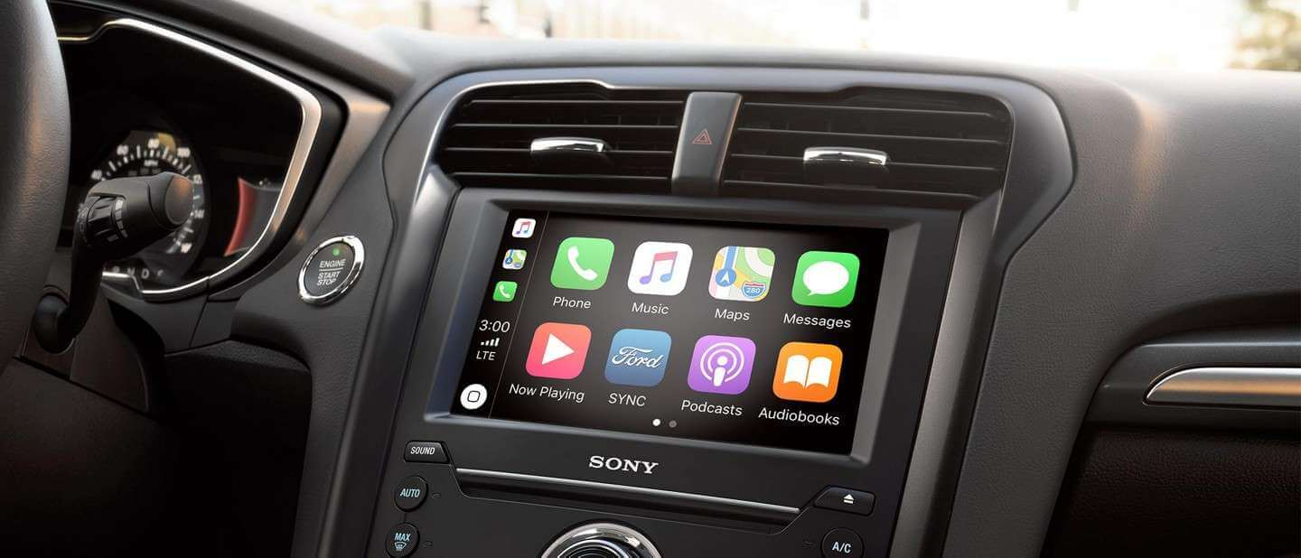 New 2019 Ford Fusion Apple CarPlay™ And Android Auto™ Compatibility