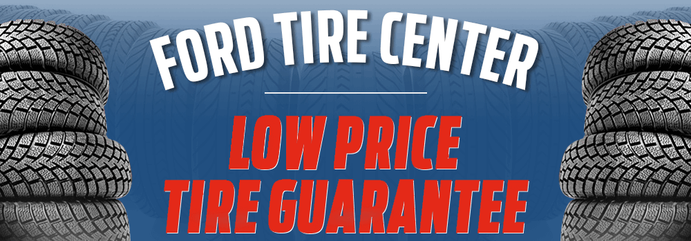 Ford Tire Center services at McRee Ford near Houston