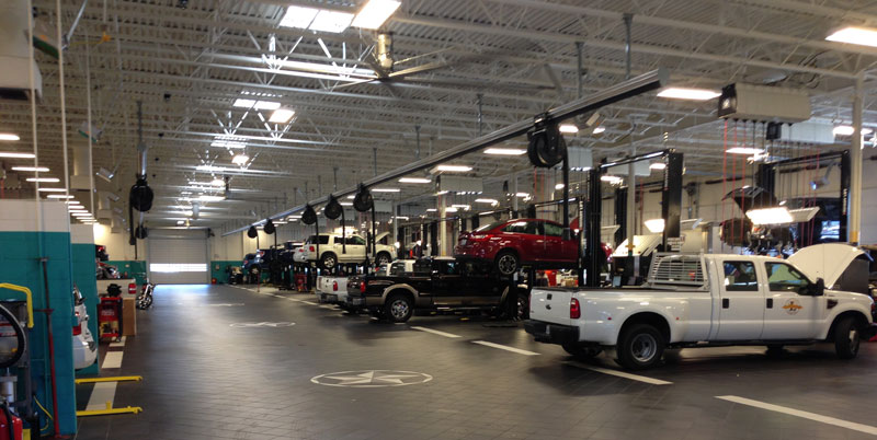Ford Repair Shop >> Ford Service Near Dallas Tx Auto Maintenance Repair Sam Pack Ford