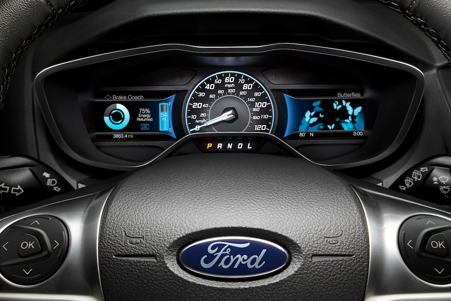 2018 Ford Edge Steering Wheel