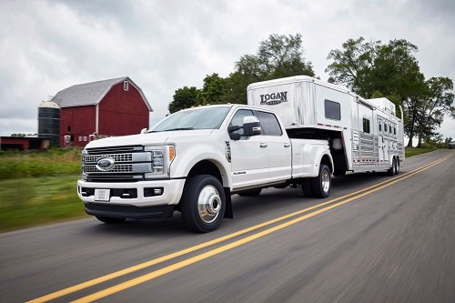 The All New 2017 Ford F Series Super Duty Heavy Truck Lineup Was Unveiled Last Week In Dallas With A High Strength Steel Frame Military Grade