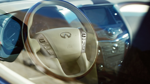 2017 Infiniti QX80 Steering Wheel