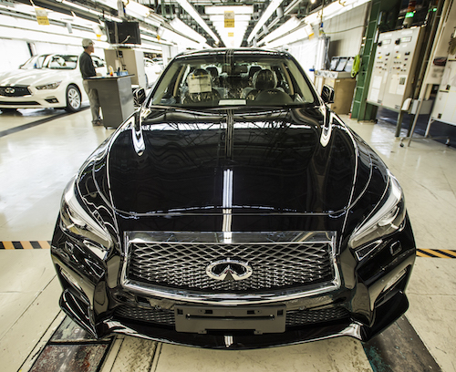 2018 INFINITI Q50 production begins in Japan