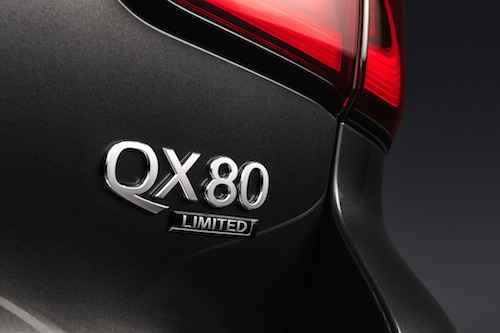 2019 INFINITI QX80 LIMITED Emblem