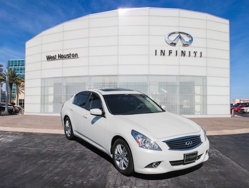 Certified Pre-Owned INFINITI 1