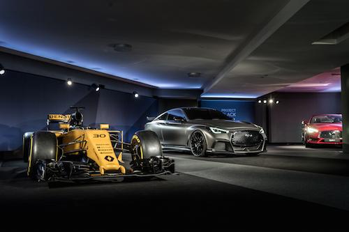 INFINITI 'Project Black S' Geneva Motor Show