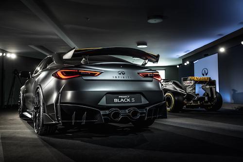 INFINITI 'Project Black S' Q60 Sports Coupe