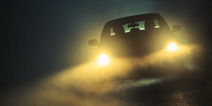 fog driving
